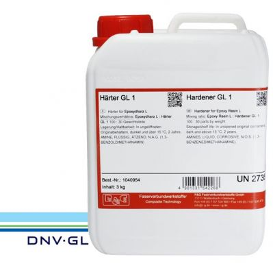 Hardener GL1 (30min) for resins L 0,75Kg